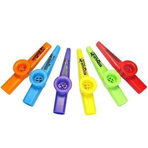 KEEPDRUM Kazoo Set verschiedene Farben 6 Stück Musikspielzeug