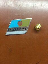 70s Ludwig Vistalite Repro Badge Blue Olive