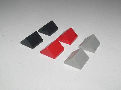 Lego ® Lot x2 Brique Penchée Toit 2x2 Roof Slope Brick Choose Color 3043