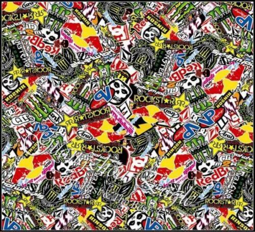 STICKER BOMBS ~ STICKER BOMBING ~ RANGE OF DESIGNS ALL IN MATTE FINISH