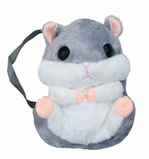 Kawaii Grey Hamster Plush Backpack Bag Cute Japan Korohamu  Jfashion Cosplay