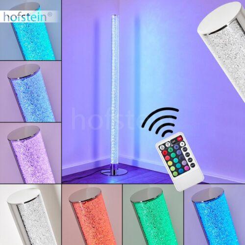 LED Steh Boden Lampe RGB Farbwechsler Wohn Schlaf Raum Beleuchtung Fernbedienung