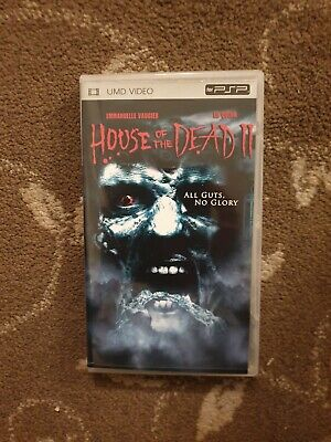 House Of The Dead 2 Psp Umd Movie Zombies Ebay