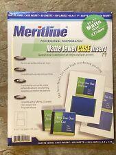 Meritline Professional Photographic Matte Jewel Case Insert