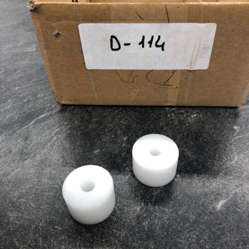d-114 1 Piece PVC role inside 8,2 External 30 mm Height 19,7 MM