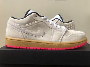 d956609de53c26 Air Jordan 1 Low Brown Gum Pink 553558-119 Size 7-14 100% Authentic ...