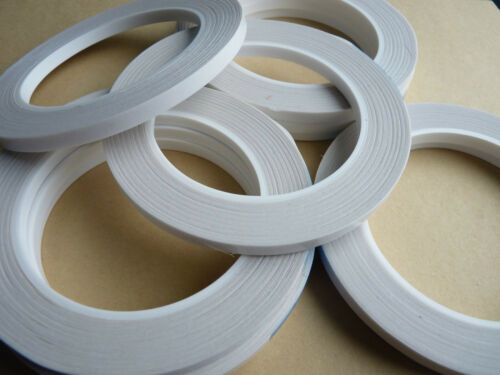 DOUBLE SIDED ADHESIVE STICKY TAPE 6 mm for card making /& scrapbooking