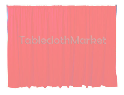 12 x 5 ft Backdrop Background FOR PIPE AND DRAPE DISPLAY Polyester panel 24COLOR