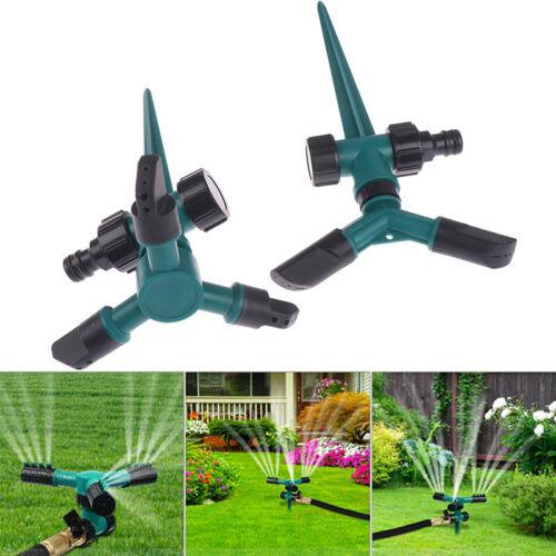 Automatische Rasensprinkler mit 360 ° Drehung Gartensprinkler