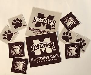 Mississippi-State-University-Iron-On-fabric-appliques-Sports-Patches