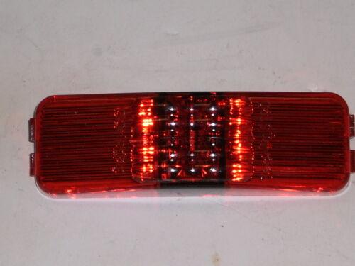 Trailer Truck USA TecNiq Red LED Clearance Side Marker Light 1x4 Camper