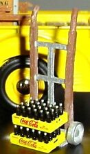 Custom Hand Truck with 2 Coca Cola Cases 1/24 Scale G Scale Diorama Accessories