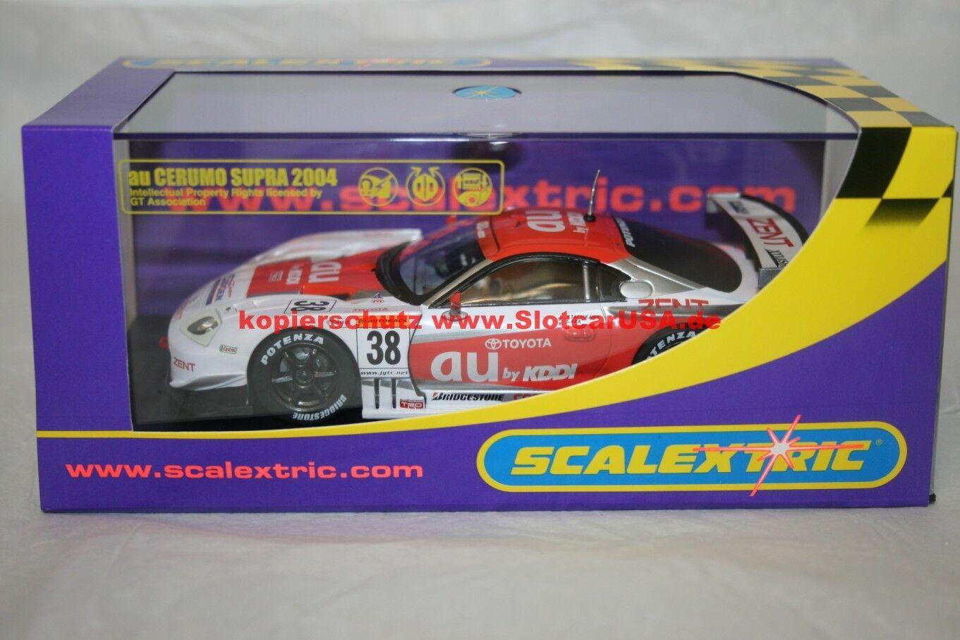 Scalextric C2718 Slotcar Cerumo Supra 2004 2004 2004 Nr. 38 NEU    Feinbearbeitung  814aee