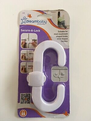 White Dreambaby Secure-a-lock