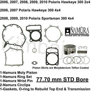 Namura Piston Kit Polaris 300 HAWKEYE 2X4 06-11 SPORTSMAN 300 4X4 08-10 78.20mm