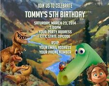 The Good Dinosaur Birthday Party Invitations Personalized Custom