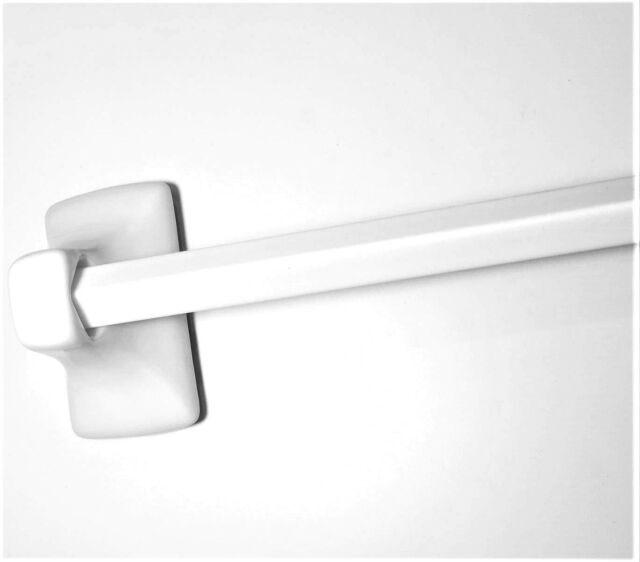 """24"""" REPLACEMENT TOWEL BAR Cut to Fit Plastic Spring Loaded ..."""