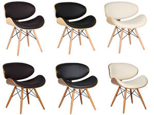 Image Is Loading Eames Style DSW Eiffel Dining Office Chair Wood