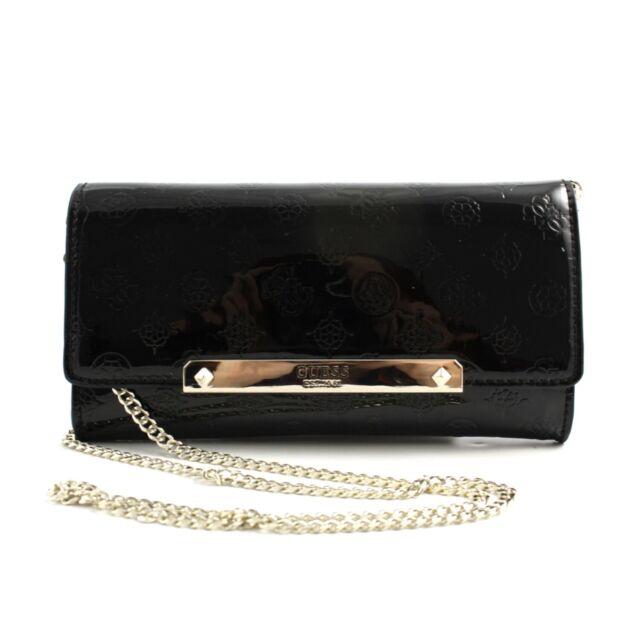 borsa vernice nera guess in vendita | eBay