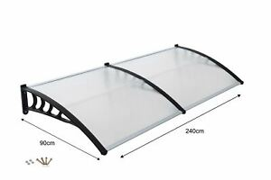 Front-Door-Canopy-Porch-Rain-Protector-Awning-Lean-To-Roof-Shelter-90-X-240cm