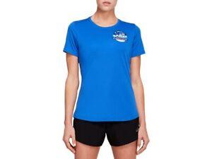 ASICS Women's LA PR Short Sleeve Running Clothes 2012B340
