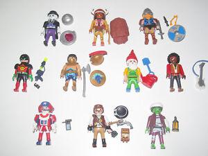 Playmobil Figurine Serie 11 Homme Personnage + Accessoires Modèle au Choix NEW