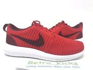 new styles 59802 33375 Image is loading 844833-600-NIKE-ROSHE-TWO-FLYKNIT-UNIVERSITY-RED-