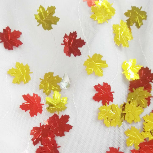 Autumn Leaves Table Confetti 15G Autumn Halloween Maple Leaf Party Approx 200pcs