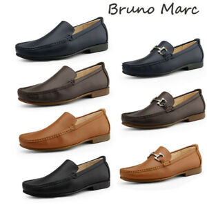 Bruno-Marc-Men-039-s-Penny-Slip-On-Loafers-Moccasin-Casual-Dress-Shoes