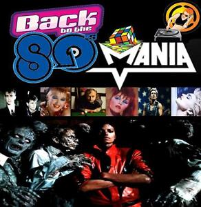 80's Mania 10 -Non Stop Dj Video Mix Dvd- 73 Minutes Of Classic Hits + Gift Mix