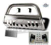 Fits 2004-2014 Nissan Armada Classic Bull Bar Stainless Steel Chrome
