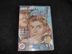 FEDERAL AGENTS VS. UNDERWORLD INC. 12 CHAPTERS 2 DVDS