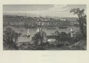 "1874 engraving ""City of Milwaukee"""