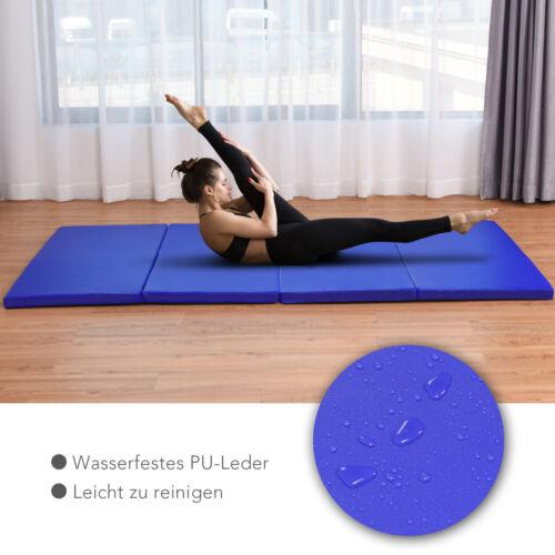 Weichbodenmatte Fitnessmatte Turnmatte Gymnastikmatte Yogamatte 240x117x5cm