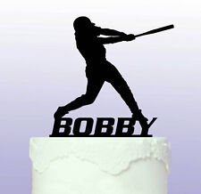Personalised Baseball Cake Topper