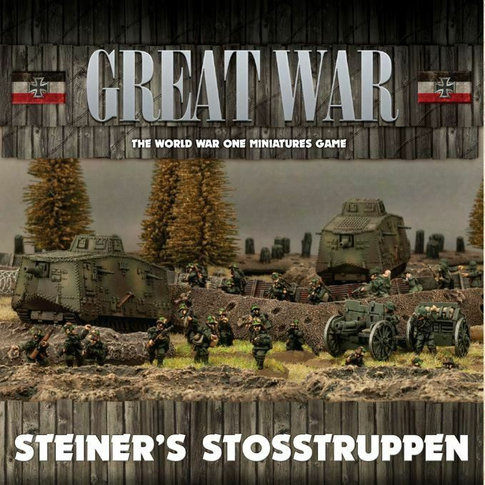 Great War WWI Miniature Wargame - Steiners Stosstruppen
