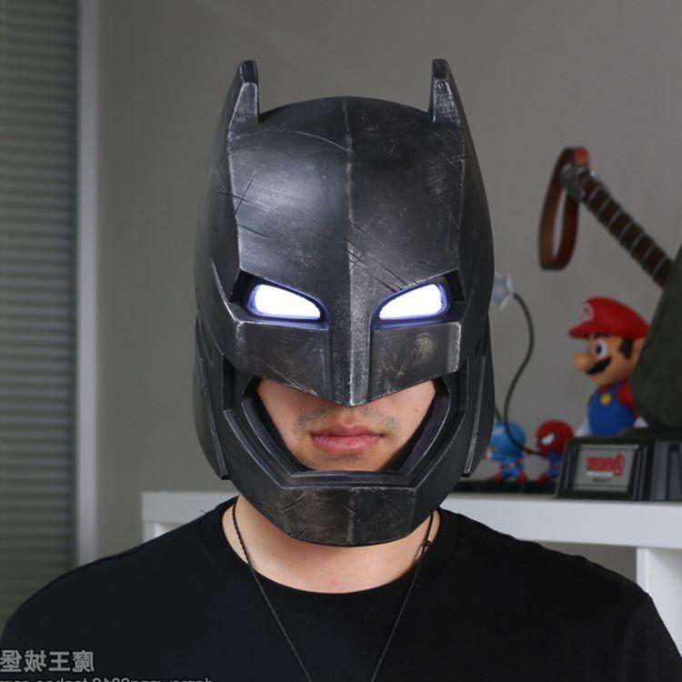 Bre jouets BatFemme VS SuperFemme portable BatFemme blindés 1/1 1/1 1/1 casque grandeur nature 5dfe9c