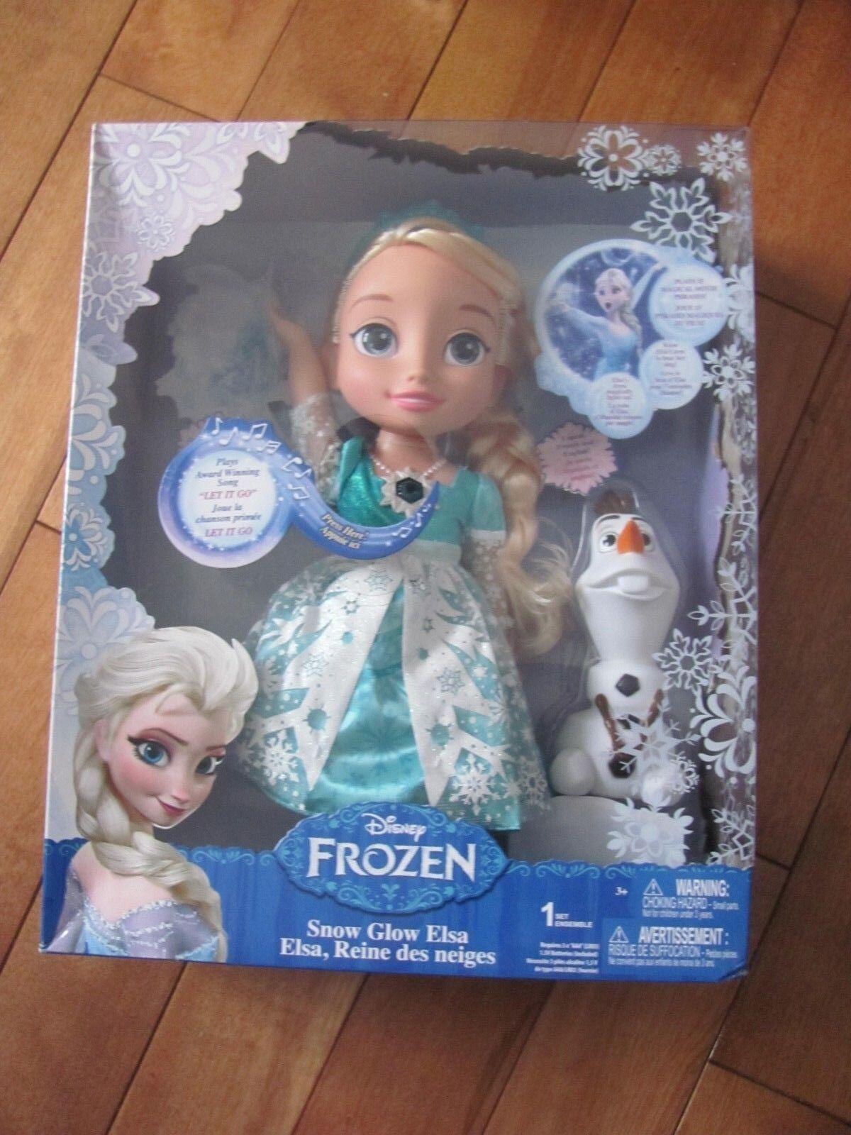 Gefrorene Schnee Leuchtende Elsa Puppe Singende Let It Go Jakks Pacific Neuer
