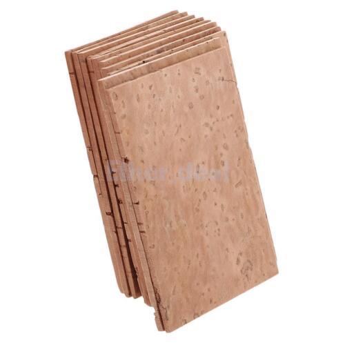 10pc Hals Neck Cork Blatt Korkplatte für Sopran Alt Saxophon Tenor