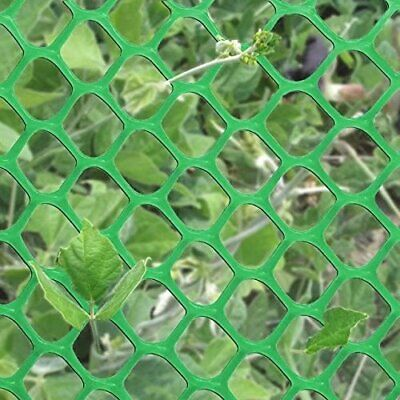 PVC Poultry Net Garden Chicken//Rabbit//Duck Mesh Wire Fence 3x20FT Green