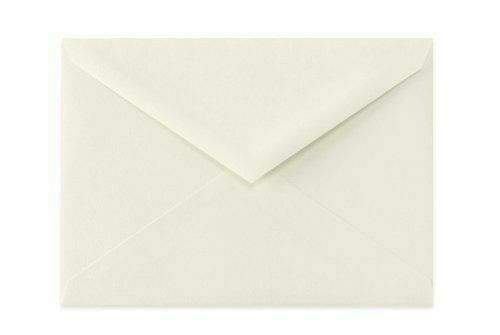 Soft Natural Ivory  5 BAR Triangle Flap Envelope - 4 1 8  x 5 1 2 in - Box 500