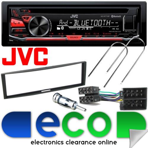 Renault Megane MK2 03-10 Jvc Bluetooth CD MP3 USB Automóvil Estéreo Fascia Panel Kit /&