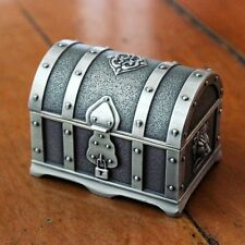Pirates of the Caribbean Treasure Chest Vintage Jewelry Box Case Perfect Gift