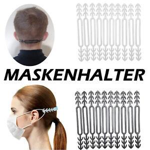 10x Ohrenschoner Maskenhalter Mundschutzhalter für Mundschutz und Behelfsmaske
