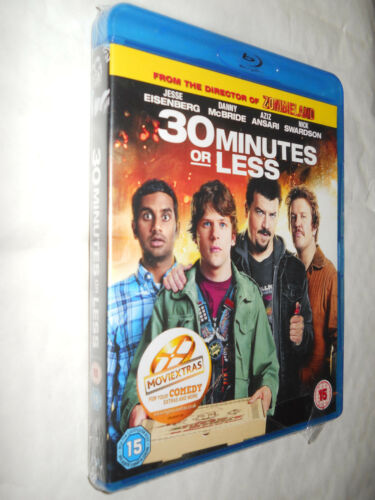 1 of 1 - 30 MINUTES OR LESS BLU-RAY NEW AND SEALED - JESSE EISENBERG