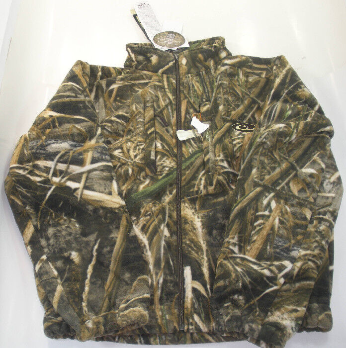 Drake Waterfowl DW2150-015-3 Max 5 Camo Fleece Coat Large 17681