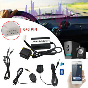 Wireless-Bluetooth-Car-Kits-Hands-free-USB-AUX-Adapter-For-Toyota-Lexus-300-RX