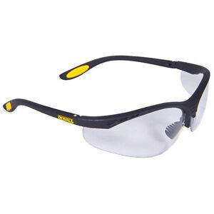 Dewalt DPG58-1D Reinforcer Safety Glasses with Clear Lens (12/Box)