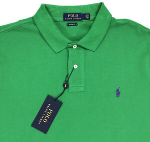 Xxl Nwt Fit Men's Classic Shirt Details 2xl Polo Kelly About Green Ralph Mesh Lauren WIH2YeD9E