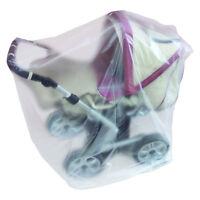 Staubhülle Staubschutzhülle Schutzhülle Für Grossen Kinderwagen Aus Folie - Neu
